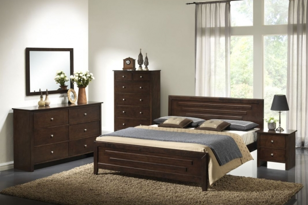 Crocus Series - 3 - Bedroom Set - Idea Style Furniture Sdn Bhd