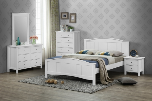 Nicole Series - Double Bed - Bedroom Set - Idea Style Furniture Sdn Bhd
