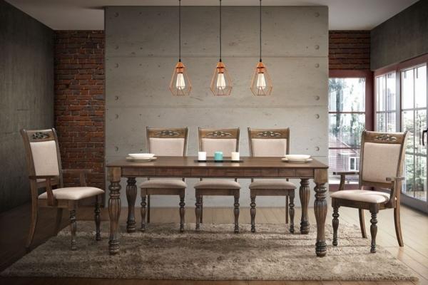 Verona II - DT 837, DC 2307 - 2 - Dining Set - Idea Style Furniture Sdn Bhd